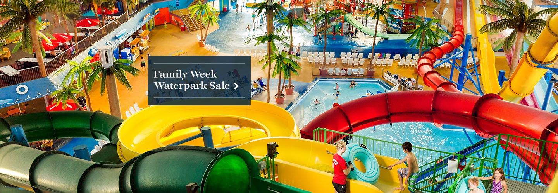 Family Week Waterpark Sale