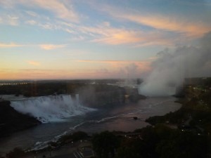 View Of Niagara Falls From Sheraton Dining Level