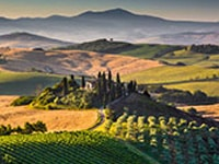 Toscana Region Of Italy