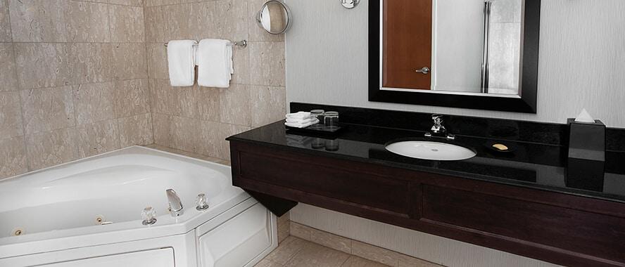 Bi-Level Suite Bathroom