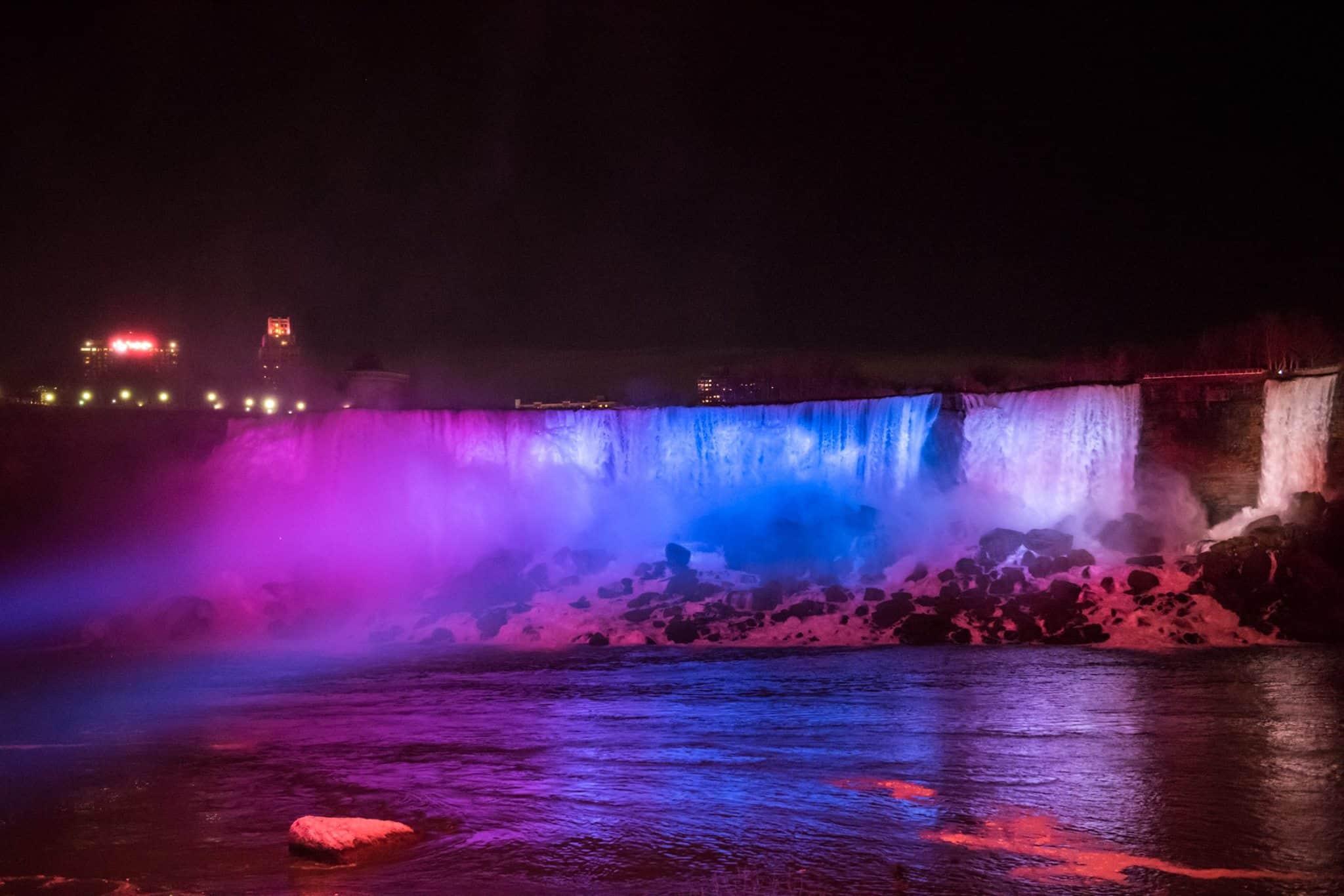 Niagara Falls Shines In New Light