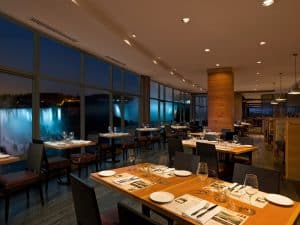 Fallsview dining at Windows by Jamie Kennedy for a romantic Valentine's Day in Niagara Falls.