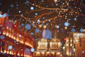 Snowy Village