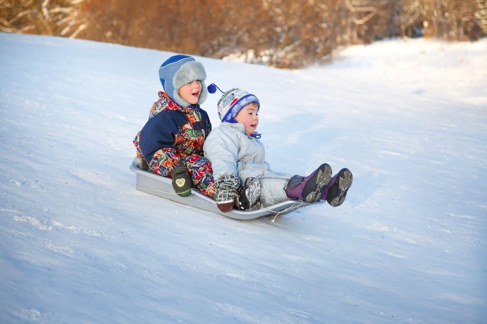 Niagara Falls Winter Activities Best Sledding Hills