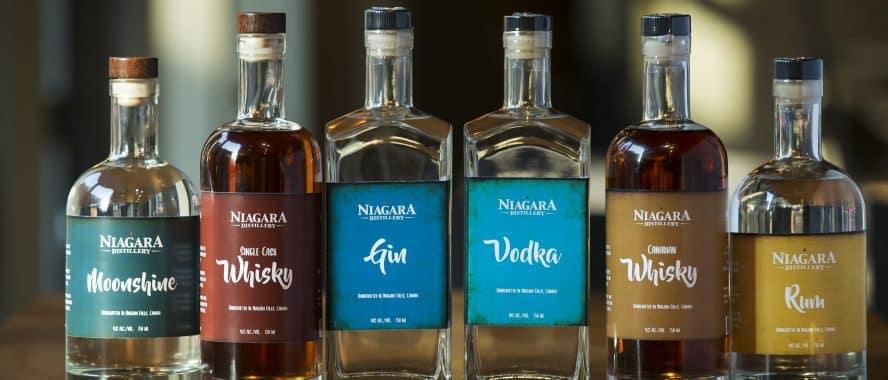 Niagara Distillery Spirits