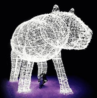 Winter Festival of Lights Polar Bear